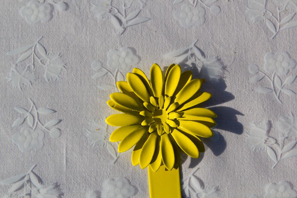 stainless steel sunflower